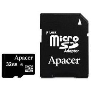 Купить Micro SD HC card 32Gb Apacer (Class 10) UHS-1 Up to 30 Mb/s в интернет магазине ЧАС с доставкой по Севастополю и Крыму. Приобрести Micro SD HC card 32Gb Apacer (Class 10) UHS-1 Up to 30 Mb/s по выгодной цене можно в одном из наших магазинов или сделав заказ на сайте.  Возможна доставка заказов любой ТК по всей территории России.