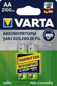 Купить Аккумулятор VARTA R6 Ni-Mh 2100 mAh 56706 в интернет магазине ЧАС с доставкой по Севастополю и Крыму. Приобрести Аккумулятор VARTA R6 Ni-Mh 2100 mAh 56706 по выгодной цене можно в одном из наших магазинов или сделав заказ на сайте.  Возможна доставка заказов любой ТК по всей территории России.