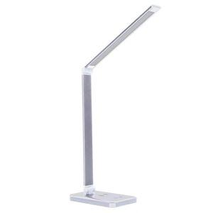 Купить Светильник СТАРТ настольный LED СТ-302 10Вт, диммер , USB, QI, рег. тем-ры  (белый) в интернет магазине ЧАС с доставкой по Севастополю и Крыму. Приобрести Светильник СТАРТ настольный LED СТ-302 10Вт, диммер , USB, QI, рег. тем-ры  (белый) по выгодной цене можно в одном из наших магазинов или сделав заказ на сайте.  Возможна доставка заказов любой ТК по всей территории России.