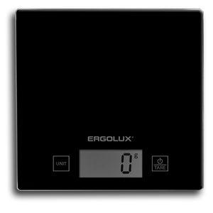 Купить Весы кухонные электронные Ergolux ELX-SK01-C02, 5 кг (чёрные) в интернет магазине ЧАС с доставкой по Севастополю и Крыму. Приобрести Весы кухонные электронные Ergolux ELX-SK01-C02, 5 кг (чёрные) по выгодной цене можно в одном из наших магазинов или сделав заказ на сайте.  Возможна доставка заказов любой ТК по всей территории России.