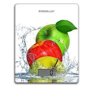 Купить Весы кухонные электронные Ergolux ELX-SK02-C01, 5 кг (белые, яблоки) в интернет магазине ЧАС с доставкой по Севастополю и Крыму. Приобрести Весы кухонные электронные Ergolux ELX-SK02-C01, 5 кг (белые, яблоки) по выгодной цене можно в одном из наших магазинов или сделав заказ на сайте.  Возможна доставка заказов любой ТК по всей территории России.