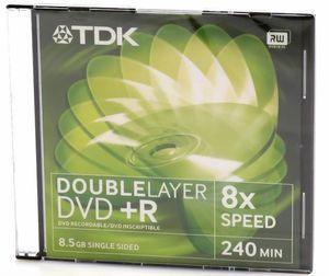 Купить DVD+R DL  TDK 8.5GB -8x  Jewel в интернет магазине ЧАС с доставкой по Севастополю и Крыму. Приобрести DVD+R DL  TDK 8.5GB -8x  Jewel по выгодной цене можно в одном из наших магазинов или сделав заказ на сайте.  Возможна доставка заказов любой ТК по всей территории России.