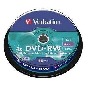 Купить DVD-RW  S- 10 Box VERBATIM 4.7GB -4x  в интернет магазине ЧАС с доставкой по Севастополю и Крыму. Приобрести DVD-RW  S- 10 Box VERBATIM 4.7GB -4x  по выгодной цене можно в одном из наших магазинов или сделав заказ на сайте.  Возможна доставка заказов любой ТК по всей территории России.