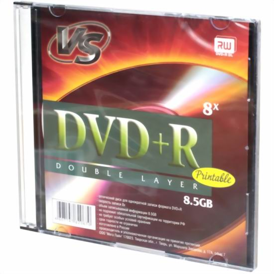 Купить DVD+R DL  VS 8.5GB -8x Printable (Slim) в интернет магазине ЧАС с доставкой по Севастополю и Крыму. Приобрести DVD+R DL  VS 8.5GB -8x Printable (Slim) по выгодной цене можно в одном из наших магазинов или сделав заказ на сайте.  Возможна доставка заказов любой ТК по всей территории России.